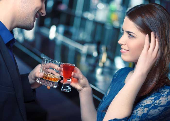bartending advice on first date flirting