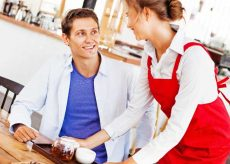 how to flirt with your waitress