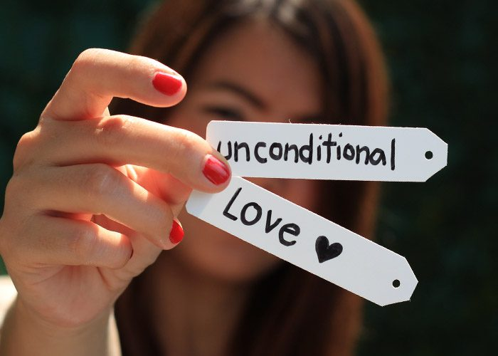 what is unconditional love