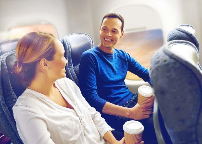 flirting plane relationship