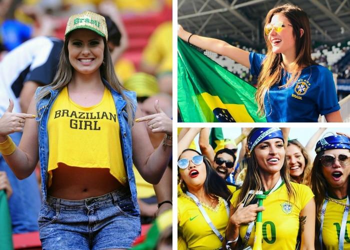 brazil girl fans