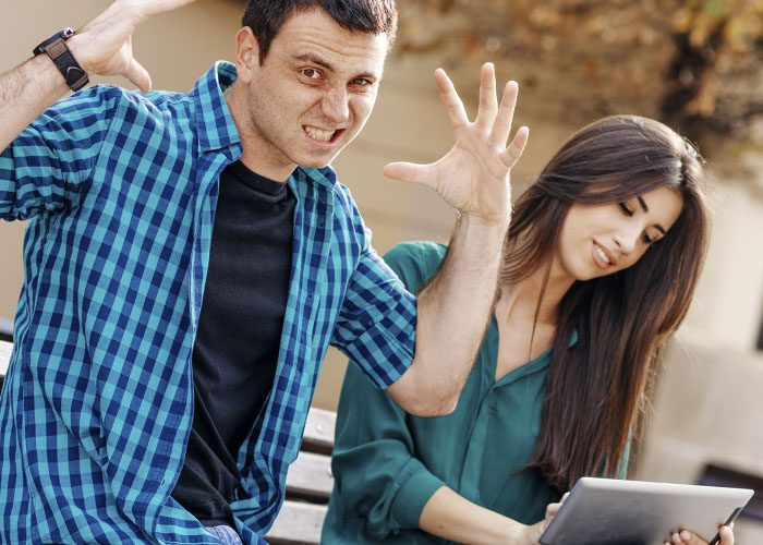How to flirt with a girl on a dating site