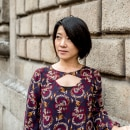 Inez, asian woman from Canada