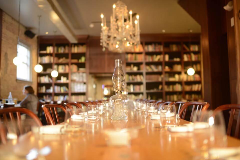 Asterisk Supper Club inside