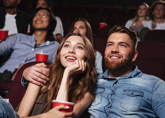 flirter au cinema