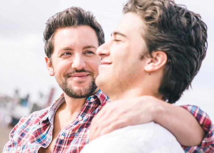Gay men dating